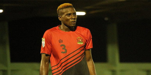 Photo: Antigua and Barbuda defender Vashami Allen. (Copyright CONCACAF)