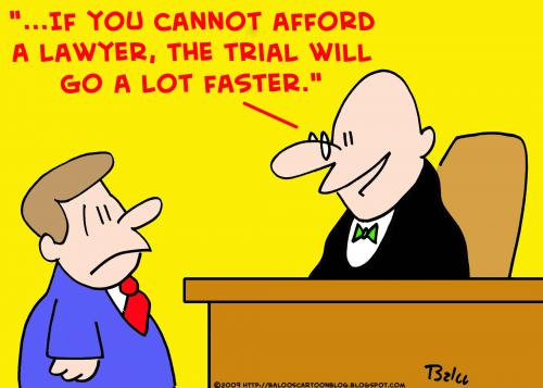 Photo: A satirical take on law.