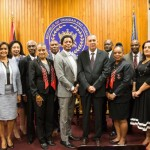 President Carmona installs gender-equal TTOC executive committee for 2017-2020