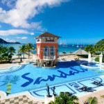 Shhhhhh! The stony shell of silence that surrounds Sandals' entry into the sister isle