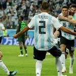 Sputnik 2018: Rojo delivers Messi's mojo, as Argentina join Croatia, France and Denmark in next round