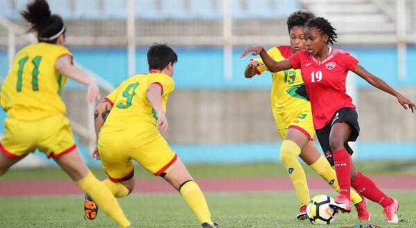 """I'm tiny but mighty!"" One on one with T&T women's football star, Aaliyah Prince"