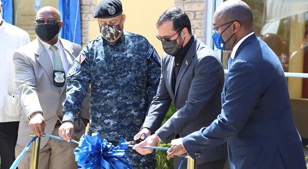 US government donates crime scene simulation facility to TTPS