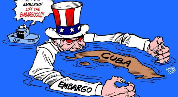 MSJ: While richer countries horde vaccines, Cuba sends nurses; the US must end 'illegal blockade'!