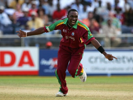 Photo: West Indies captain and Trinidad and Tobago cricket star Dwayne Bravo.