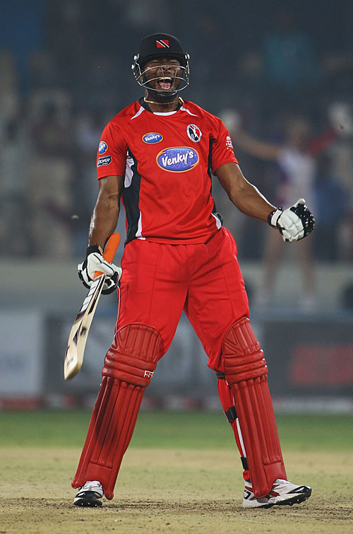Photo: Trinidad and Tobago all-rounder Keiron Pollard is one of the world's most feared T20 players.
