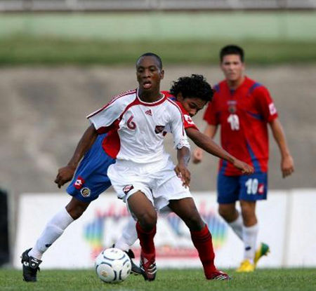 Photo: Guaya midfielder Leston Paul captained Trinidad and Tobago at the 2007 and 2009 FIFA World Youth Cups.