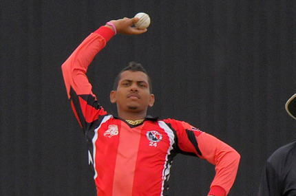 Photo: Trinidad and Tobago spinner Sunil Narine has also been snapped by a rival team.