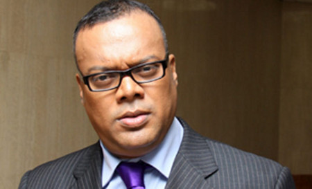 Photo: Crime Watch host Ian Alleyne.