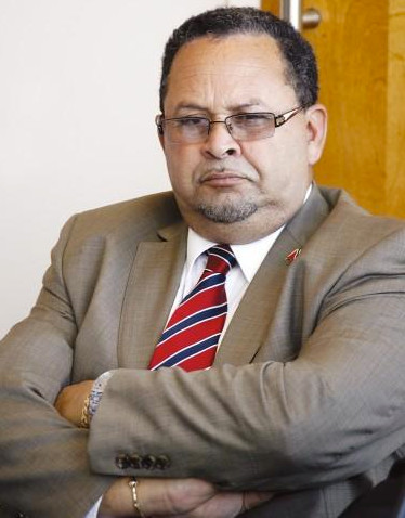 Photo: MP Herbert Volney was sacked as Minister of Justice due to his role in the controversial Section 34.