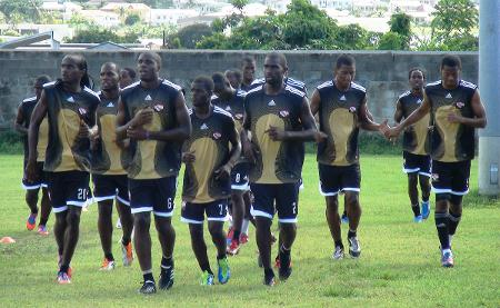 Photo: Sylvester Teesdale was part of the Trinidad and Tobago national team that overcame financial woes, a marathon qualifying campaign and infighting between the TTFF and the Sport Ministry to qualify for the 2012 Caribbean Cup finals. (Courtesy TTFF Media)