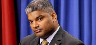 Photo: Attorney General Anand Ramlogan. (Courtesy T&T Mirror)