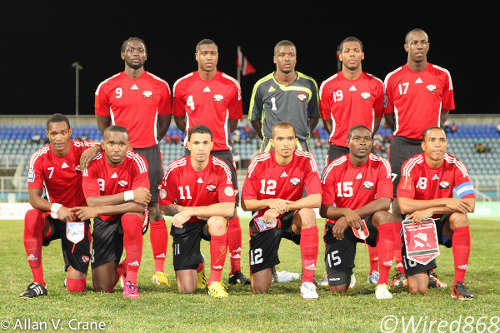 Photo: The Soca Warriors are ready to roll. (Courtesy Allan V. Crane/ Wired868)