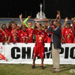 Caledonia AIA defends FA Trophy