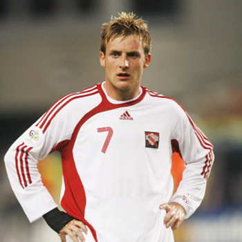 Photo: Trinidad and Tobago midfielder Chris Birchall. (Courtesy theoffside.com)