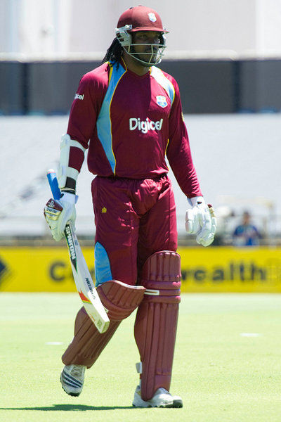 Photo: Chris Gayle is the undisputed leader of the West Indies batting line-up. (Courtesy WICB)