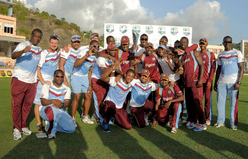 Photo: The West Indies cricket team. (Courtesy WICB)