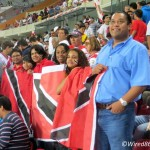 Warrior fans hold their own in Peru