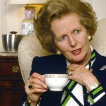 The Prime Minister remembers an Iron Lady; sorta