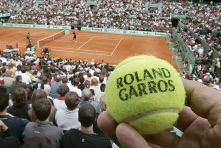 Photo: The Roland Garros is the second grand slam of the year.