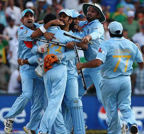 Photo: The India cricket team has never won the ICC Champions Trophy outright and its last triumph as joint winners was is 2002.