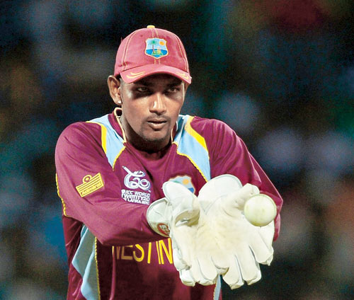 Photo: West Indies and Trinidad and Tobago wicket keeper Denesh Ramdin.