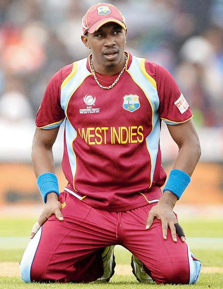Photo: West Indies ODI captain Dwayne Bravo could not find the formula for success with the Trinidad and Tobago Red Steel.