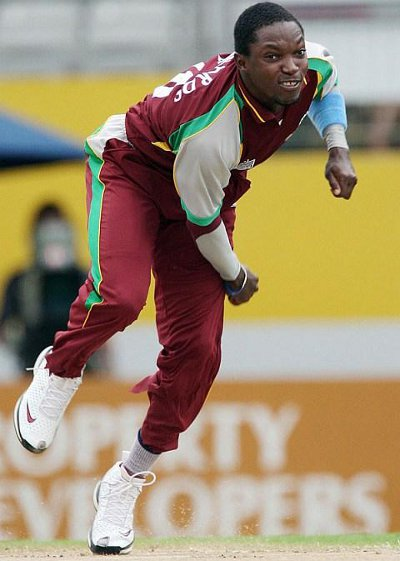 Photo: West Indies and Barbados pacer Fidel Edwards. (Courtesy Itsonlycricket.com)