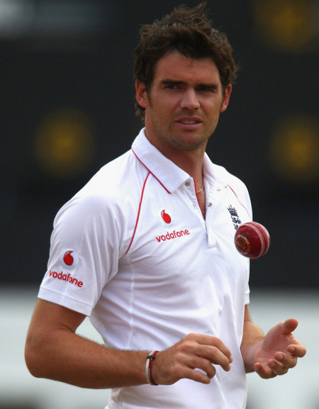Photo: England seam bowler James Anderson represents the host nation's best chance.