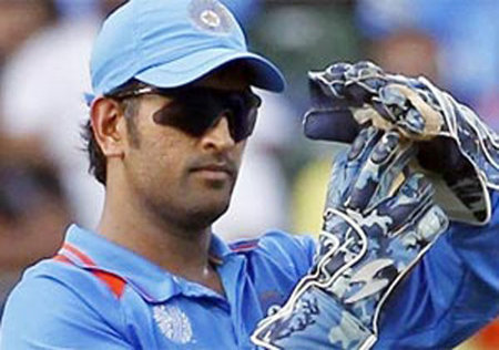Photo: India cricket captain MS Dhoni. (Courtesy Indiatvnews.com)