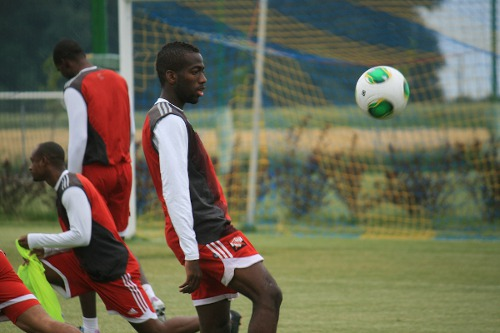 Photo: Trinidad and Tobago midfielder Kevin Molino is ready and willing if called upon. (Courtesy Shaun Fuentes/TTFF Media)