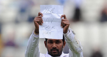 Photo: West Indies and Trinidad and Tobago wicketkeeper Denesh Ramdin has not been very talkative of late.