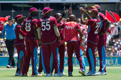 Photo: The West Indies cricket team.