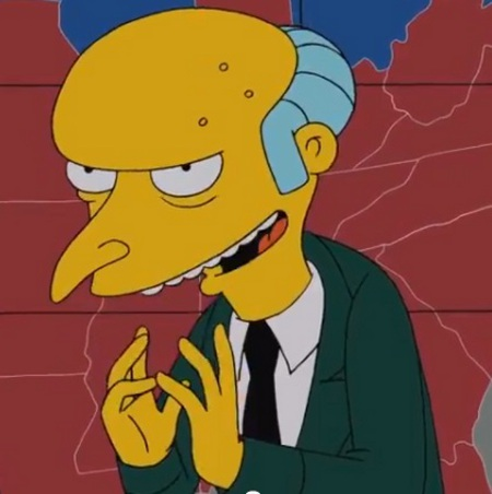 Photo: Yes Smithers, send the release out just like that... They won't suspect a thing!