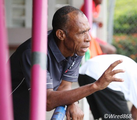 Photo: Club Sando head coach Anthony Streete. (Courtesy Wired868)