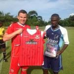 England's Walsall faces Pro League All-Stars today
