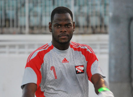 Photo: Trinidad and Tobago goalkeeper Jan-Michael Williams.