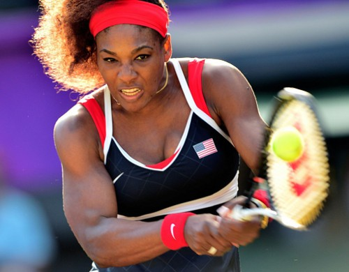 Photo: US tennis star Serena Williams