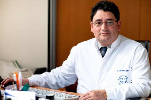 Photo: Professor Merkely Bela is the heart specialist entrusted with the care of Adams.
