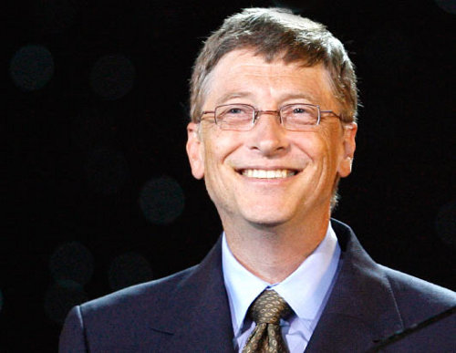 Photo: Microsoft founder and chairman Bill Gates is the second richest man in the world. But then Ted Peralta is just getting started.