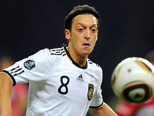 Photo: German midfield star Mesut Ozil
