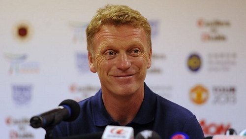 Photo: Former Manchester United manager David Moyes just heard about the MK Dons result. (Courtesy Adelaidenow.com.au)
