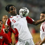 Akeem's main squeeze; T&T defender stirs for mom