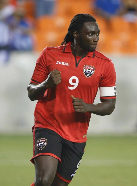 Photo: Trinidad and Tobago national captain Kenwyne Jones. (Courtesy CONCACAF)