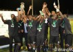 Central FC celebrates First Citizens Cup triumph