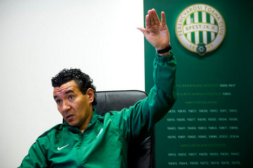 Photo: Former Ferencvarosi manager Ricardo Moniz.
