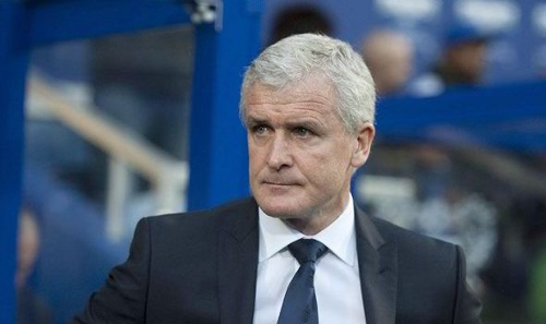 Photo: Stoke City manager and former Manchester United and Chelsea star Mark Hughes.