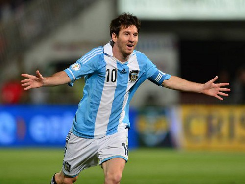 Photo: Argentina captain and Barcelona legend Lionel Messi.