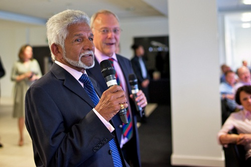 Photo: Trinidad and Tobago Transparency International president Deryck Murray (foreground) is a former West Indies cricket stand-out and Trinidad and Tobago Cricket Board president.