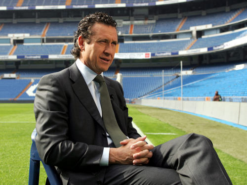 Photo: Former Argentina World Cup winner and Real Madrid player and coach Jorge Valdano